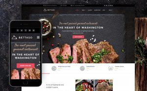 Restaurant WordPress Site Design
