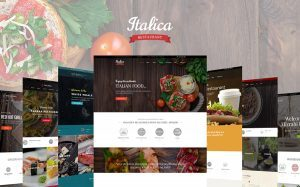 WordPress Restaurant Template Bundle