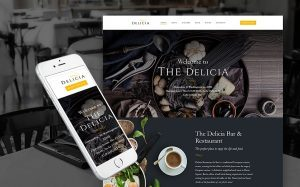 Cafeteria WordPress Site