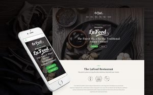 Restaurant Responsive WordPress Theme